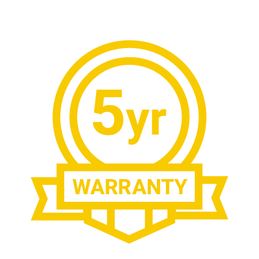 5yrs Warranty Icon