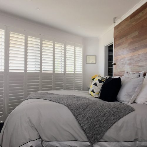 Main White Plantation Shutters